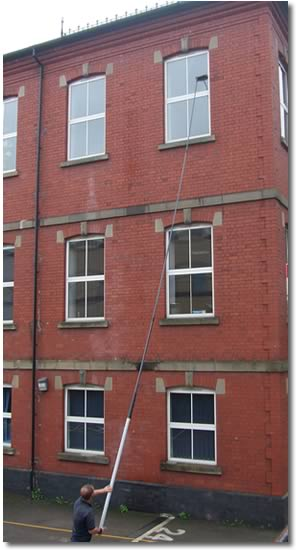 water-fed, water fed pole system, aquaclean, waterfed pole system. Call us today for water fed window cleaning and eagle power tools. Visit water fed on youtube.. Let us